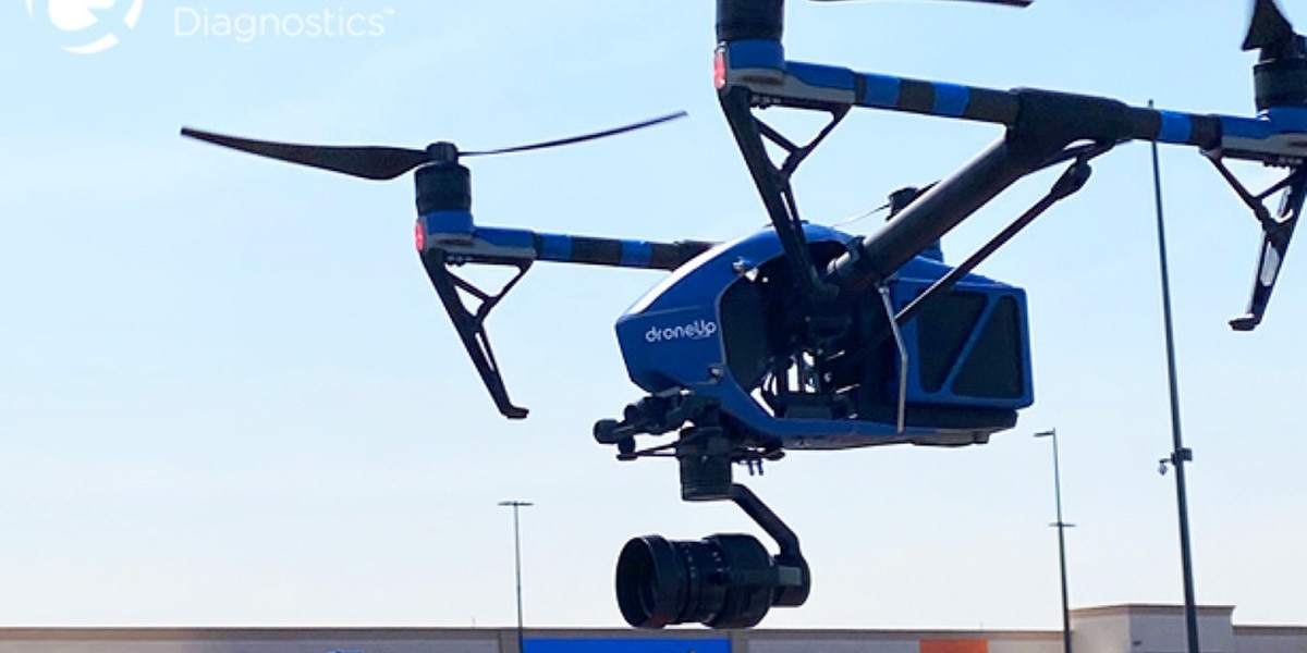 Texas Walmart uses drones to deliver COVID tests