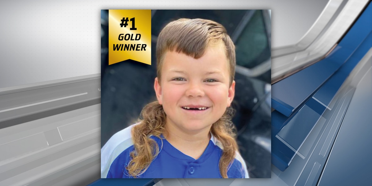East Texas boy's curly mullet wins national competition