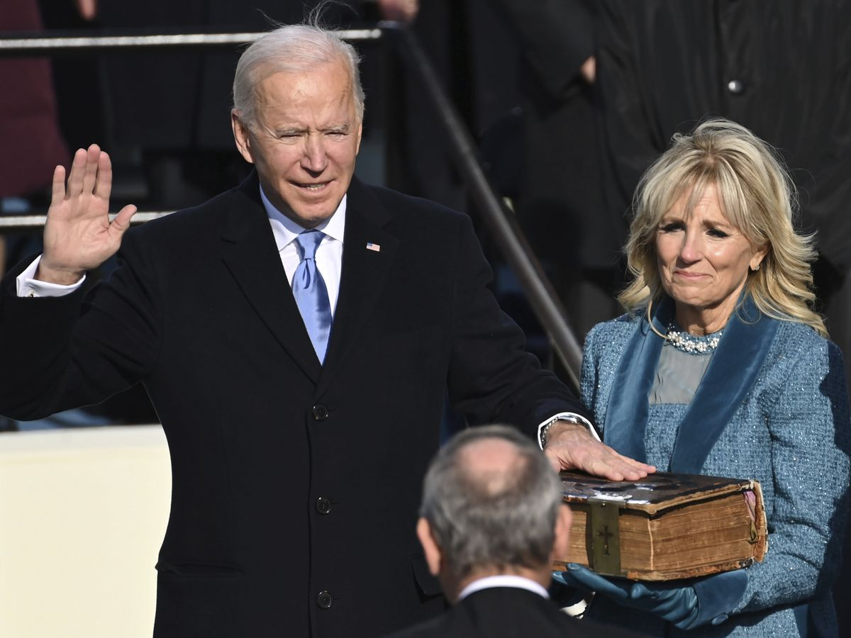 LIVE: Biden takes the helm as president: 'Democracy has prevailed'