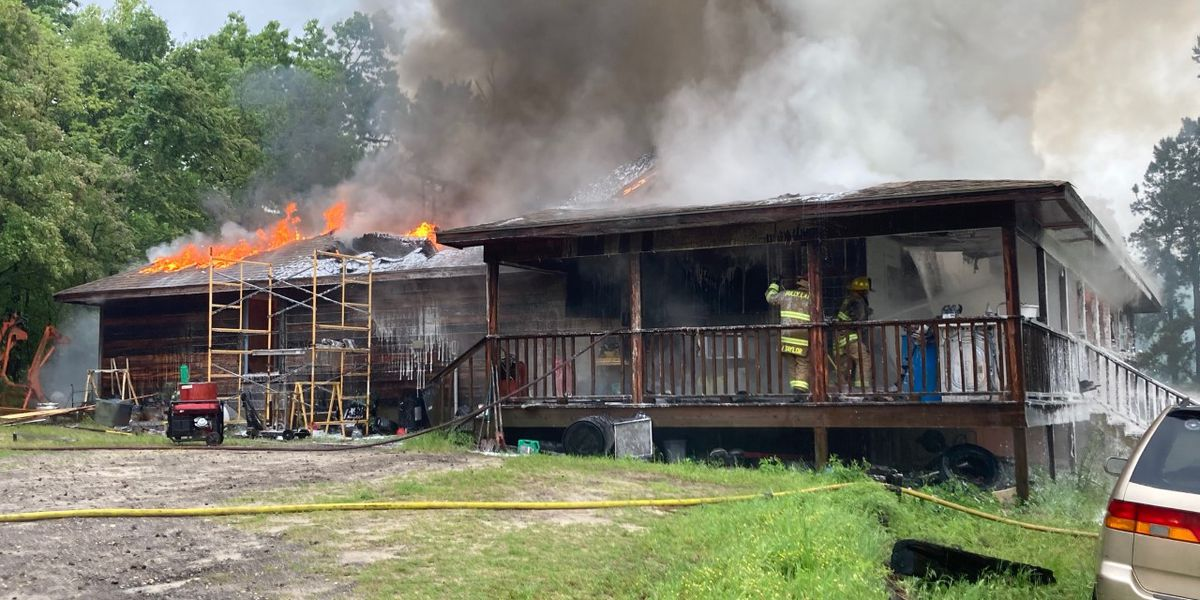 Wood County home a total loss after Friday morning fire