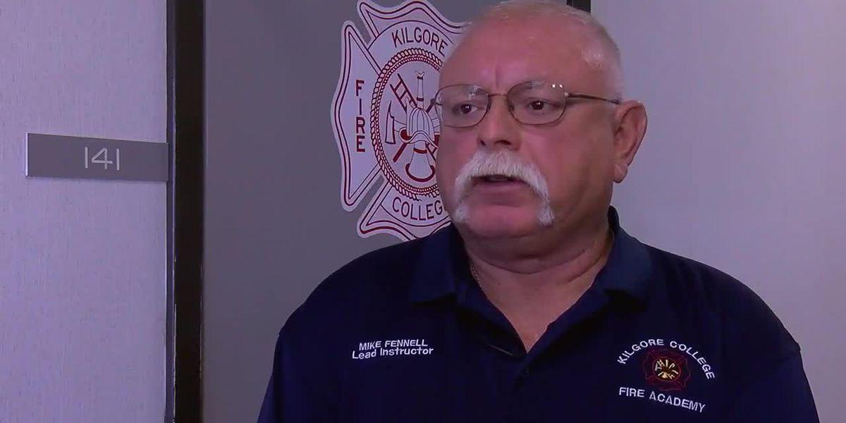 East Texas fire academy holds 9-11 observance
