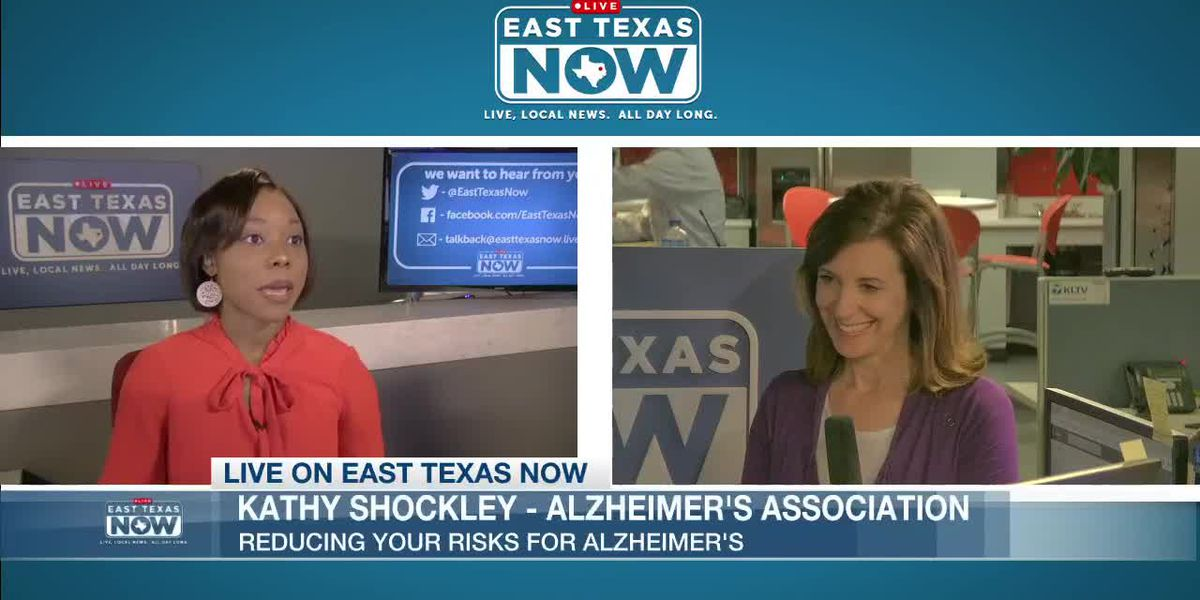 EAST TEXAS NOW INTERVIEWS: Kathy Shockley with Alzheimer's Association discusses upcoming event
