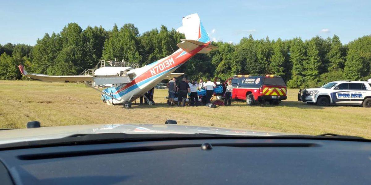 Minor injuries reported in Kilgore plane crash