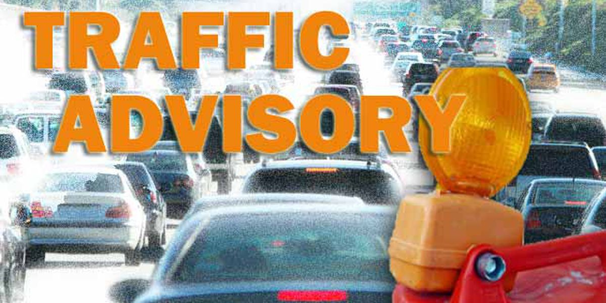 TRAFFIC ALERT: Eastbound lanes of Rice Road shutdown