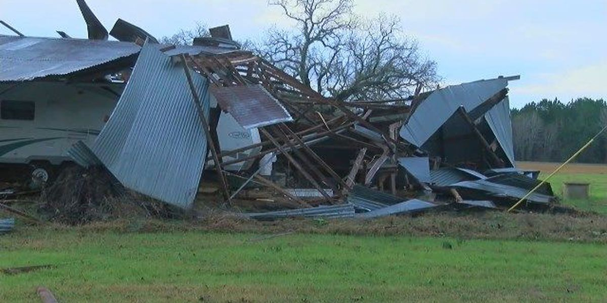 National Weather Service upgrades Rusk tornado to EF-2