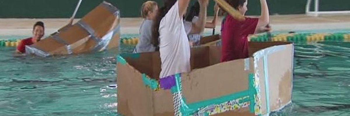 East Texas high school students to race self-built cardboard canoes