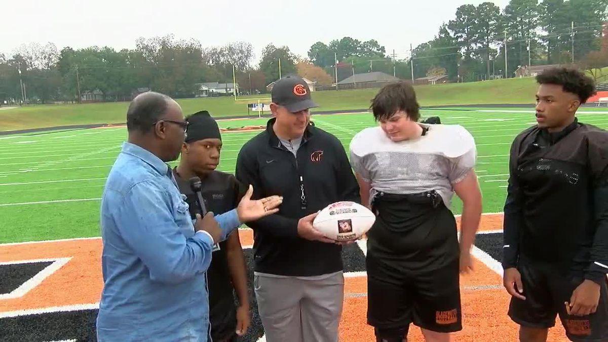 Gladewater Bears awarded Week 10 game ball