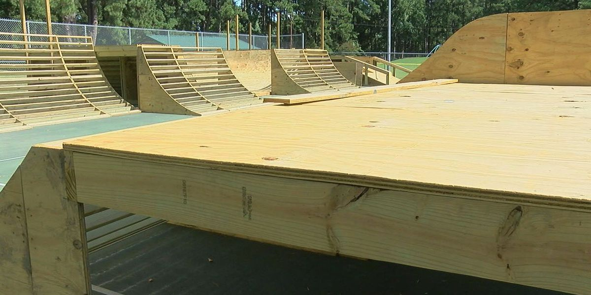 Longview skatepark expected to open next month