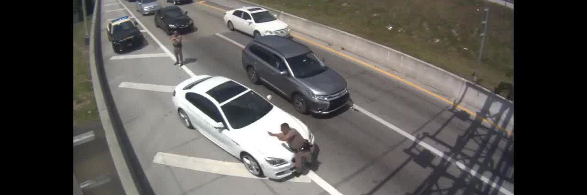 FHP Charges Suspect Accused of Striking Trooper on Florida Turnpike