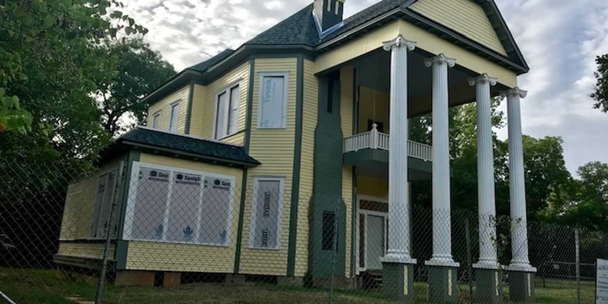 Preservation Longview begins process of restoring historic Rucker-Campbell Home