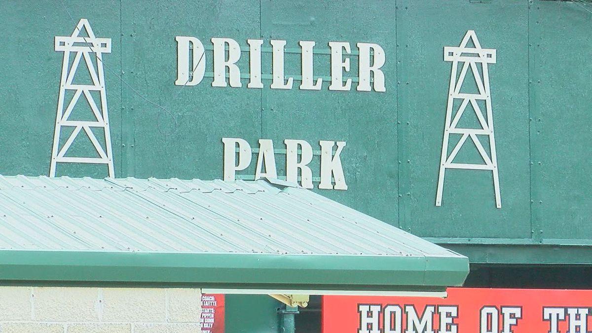 MARK IN TEXAS HISTORY: Driller Park in Kilgore