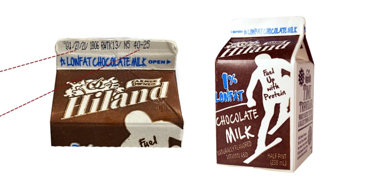 Hiland Dairy announces recall of half-pint chocolate milk cartons