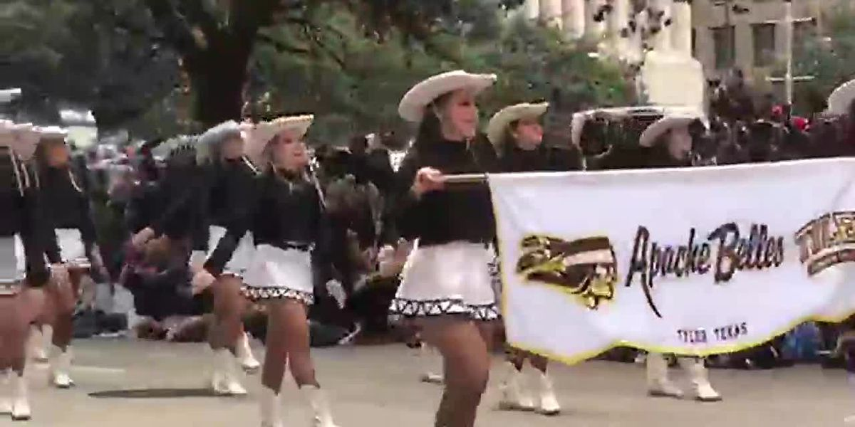 WATCH: TJC Apache Belles perform during Houston Thanksgiving Parade
