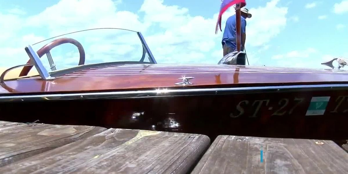 Wooden Boat Association of Texas holds Classic Antique Boat Rendezvous