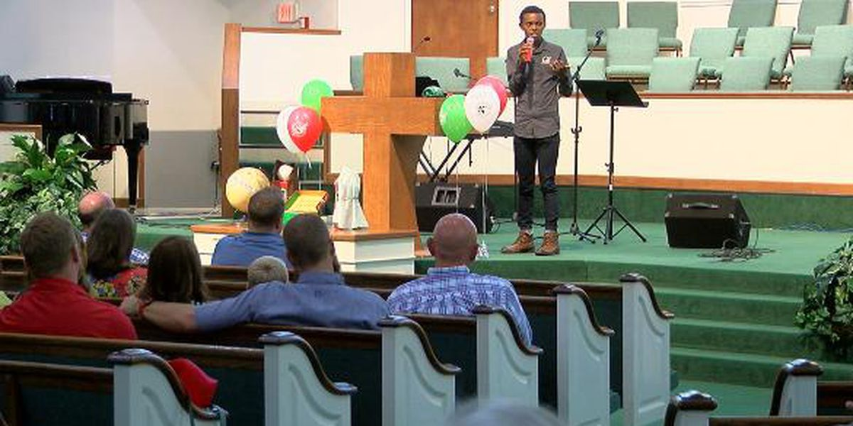 Man who escaped Rwandan genocide promotes Operation Christmas Child at Longview church