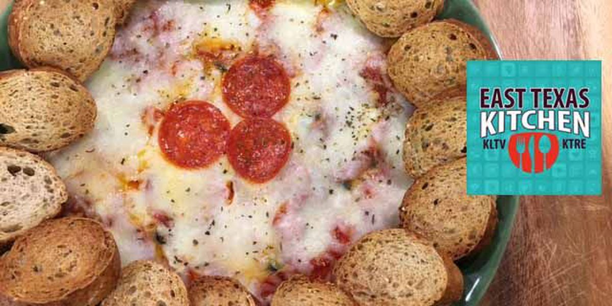 Hot Pizza Dip by Mama Steph