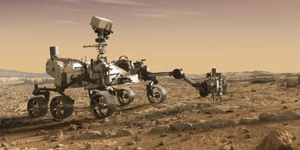 NASA's Mars 2020 rover works out for engineers