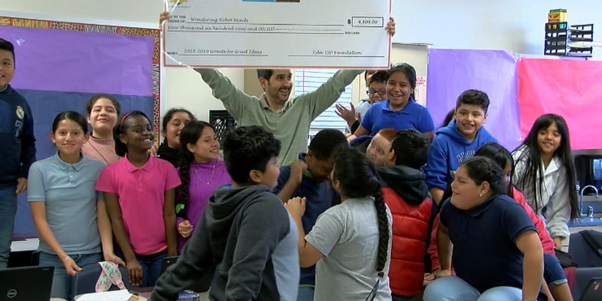 Tyler ISD Foundation presents 'Grants for Great Ideas' to innovative teachers