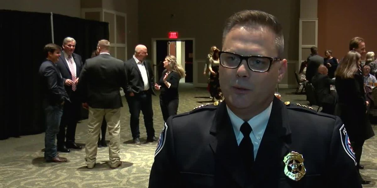 VIDEO: Tyler Police Chief Paul Toler speaks about awards ceremony
