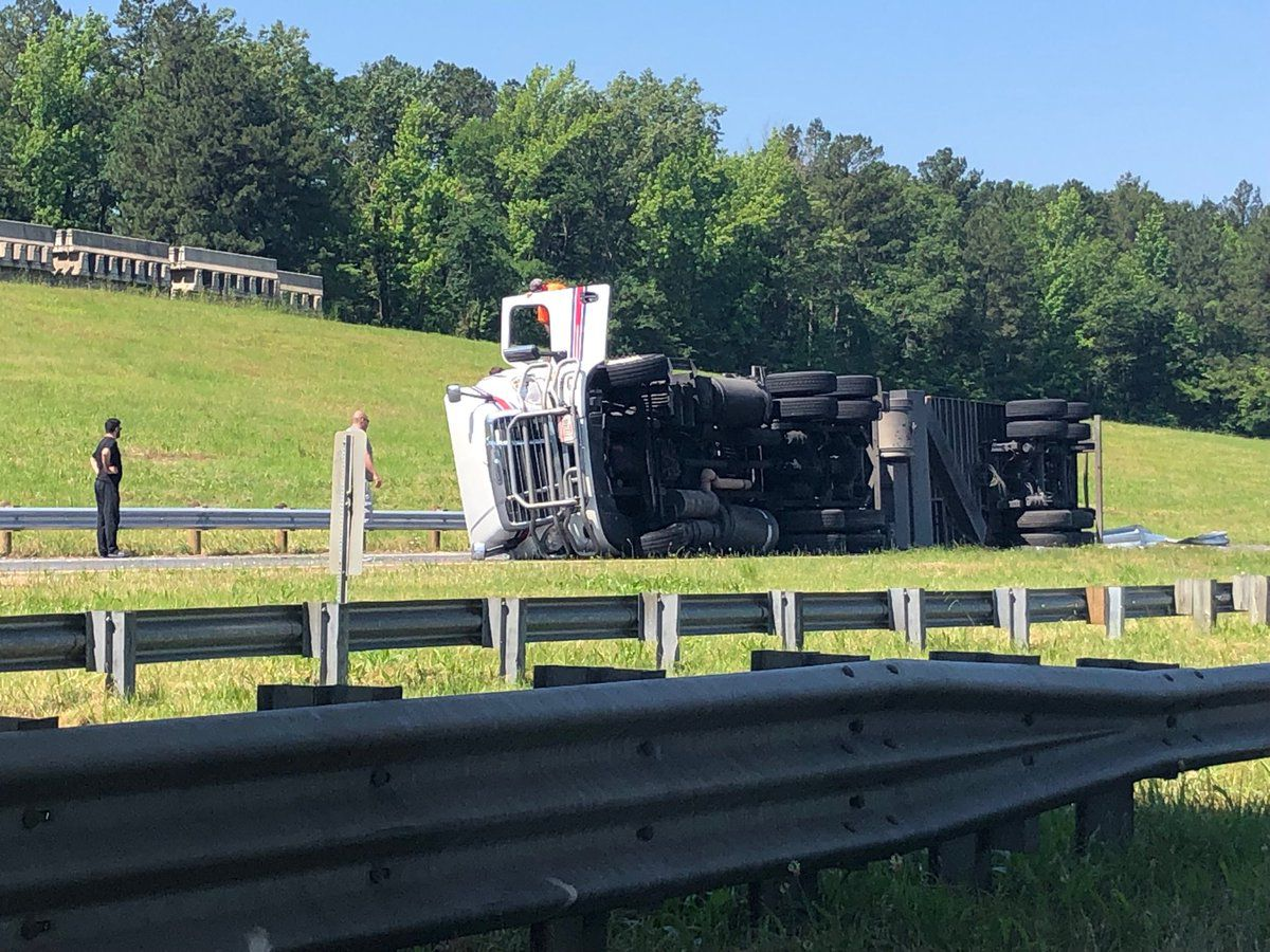 I-20E reopens in wake of big rig wreck; traffic backed up for 6 miles
