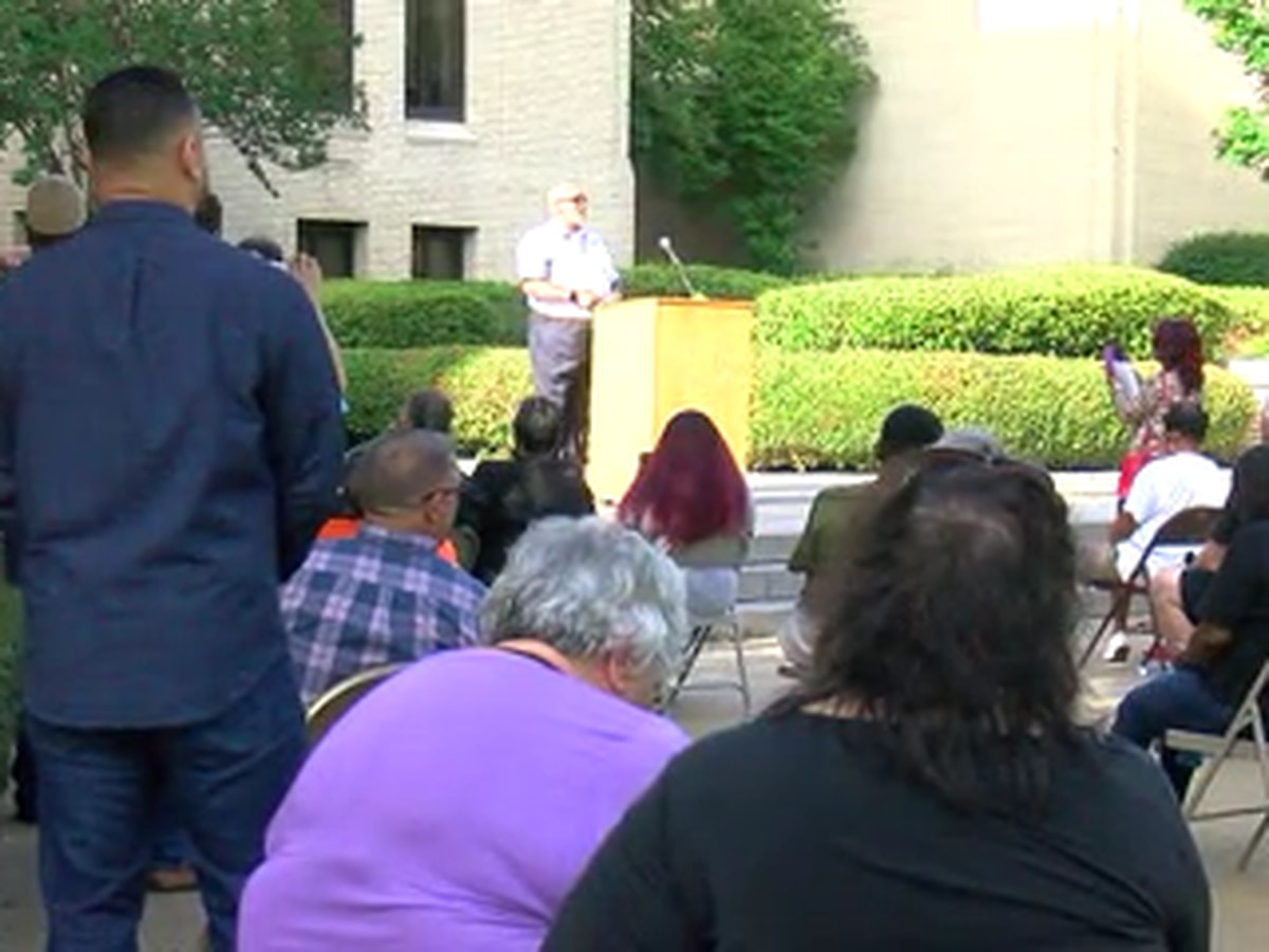 Pastors rally in Longview over Floyd death
