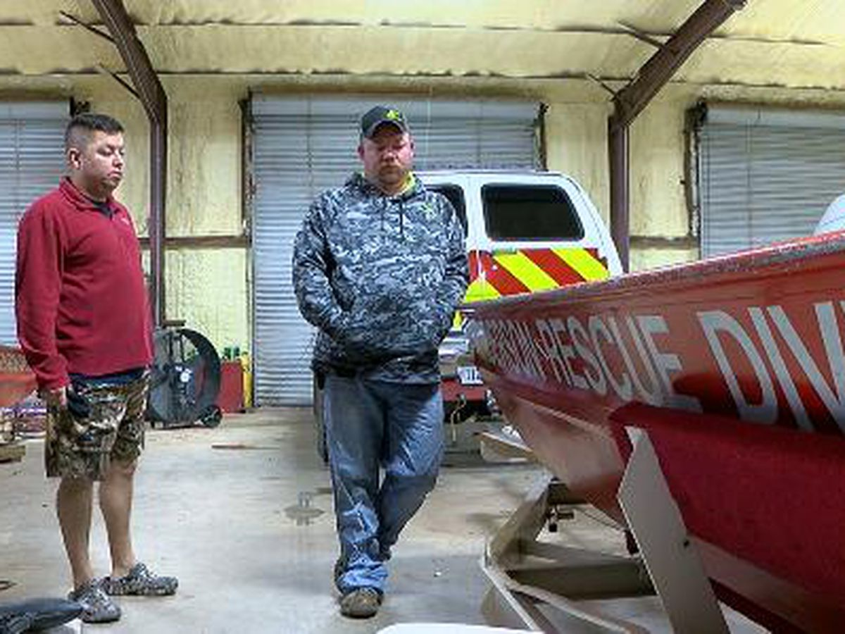 First responders talk about Rusk water rescue