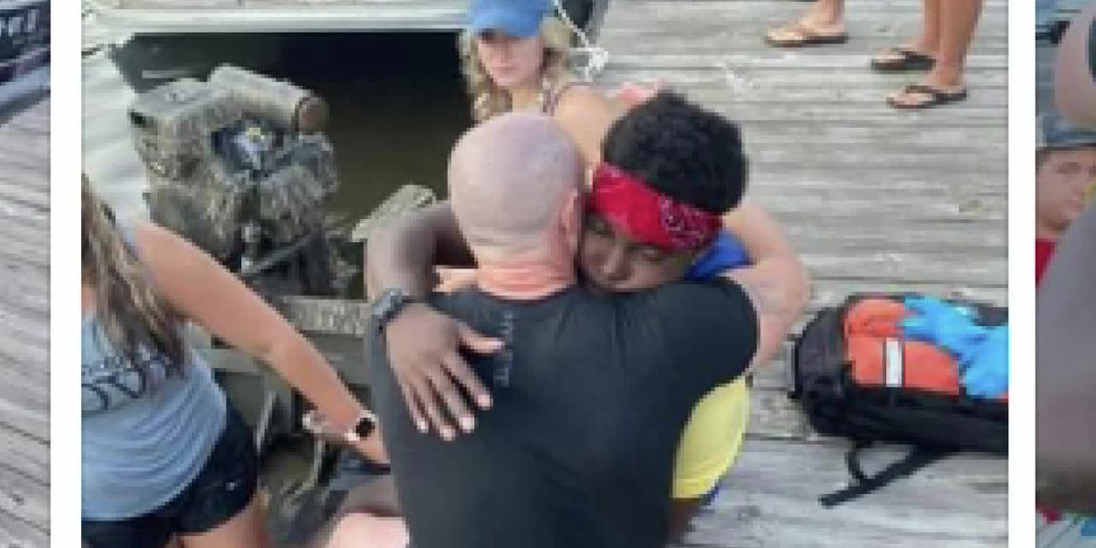 East Texan recalls rescuing man after boat fire on Caddo Lake