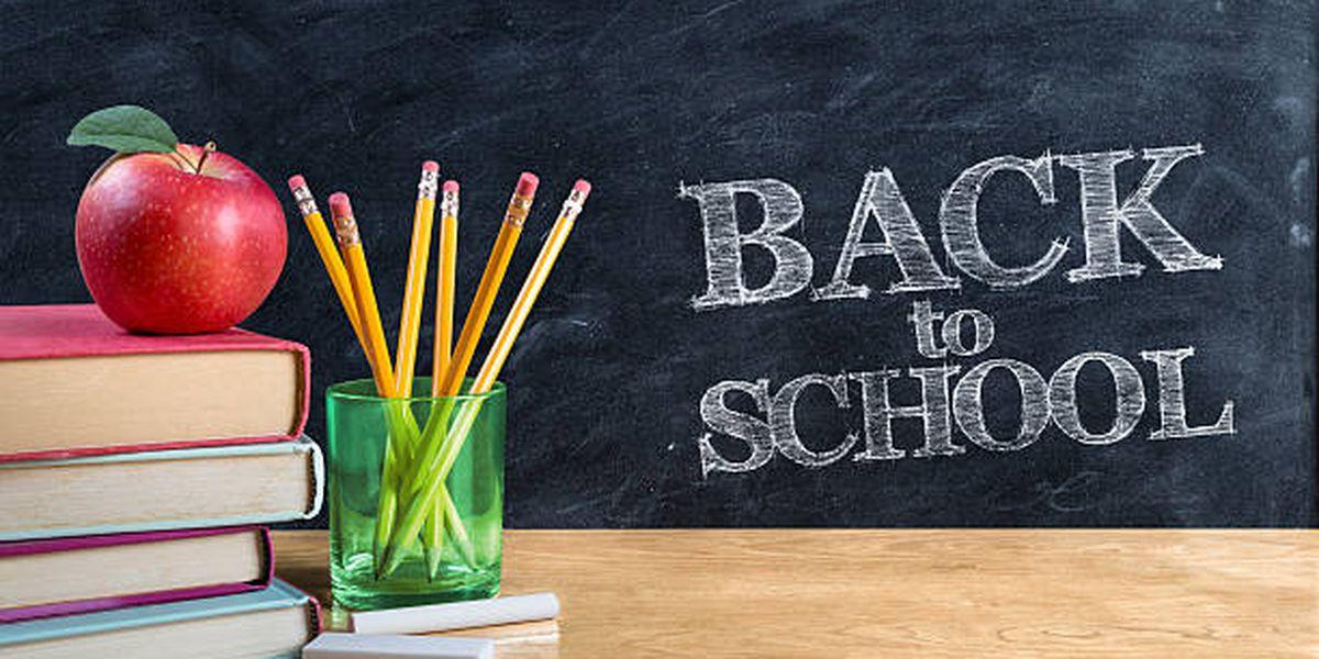 School start dates across East Texas