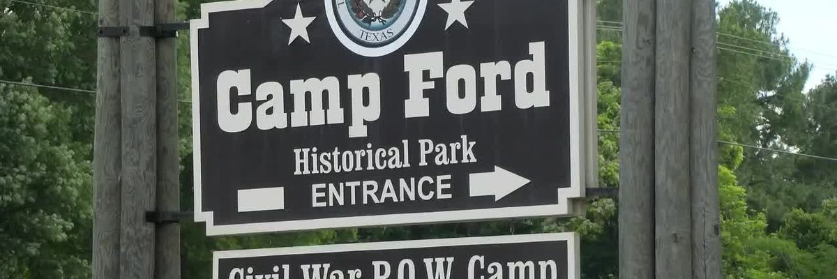 MARK IN TEXAS HISTORY: Camp Ford