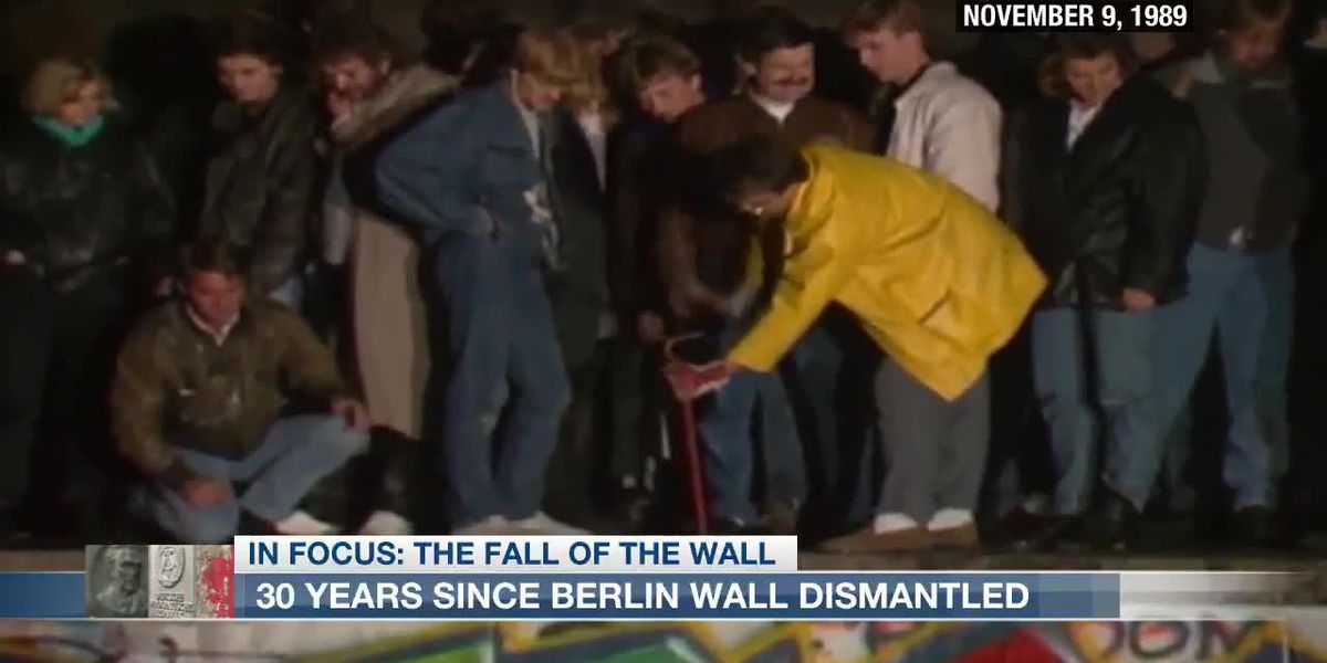 VIDEO: Behind the Berlin Wall anniversary
