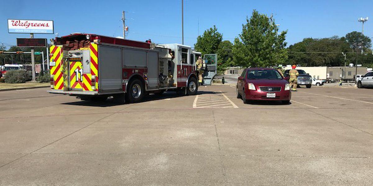Longview fire crews respond to gas leak on Hwy 80