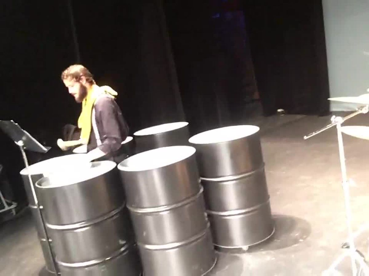 Kilgore College will debut new steel drum ensemble Thursday night in Van Cliburn Auditorium
