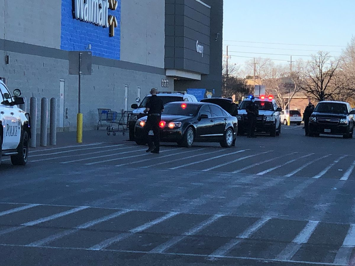 Police searching for suspect after 1 killed in shooting at Walmart, 4th & Frankford