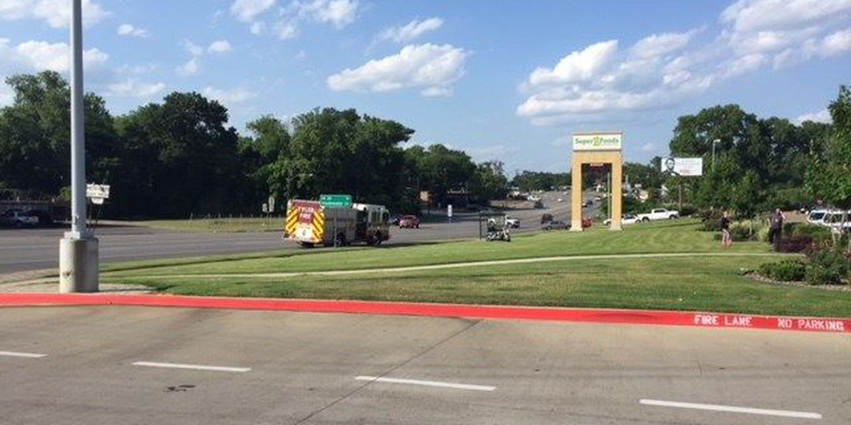Tyler PD respond to crash involving motorcycle on Gentry Parkway