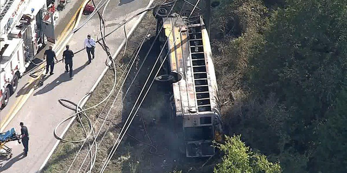 Mesquite ISD student dies in school bus wreck