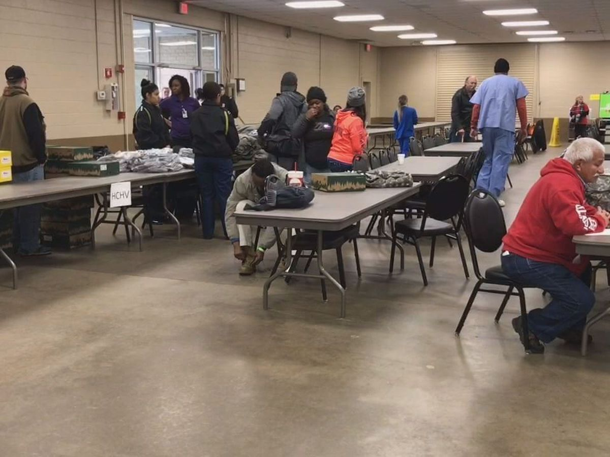 Longview event offers free healthcare, other services for homeless veterans
