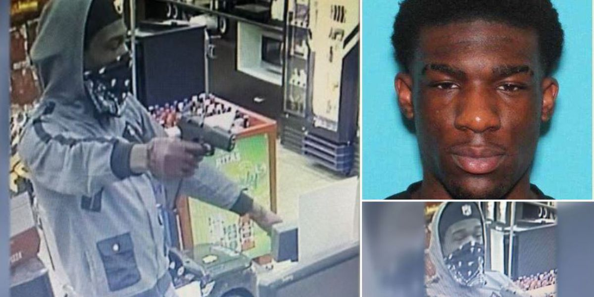 Gunman orders customers to floor in 1 of 2 robberies