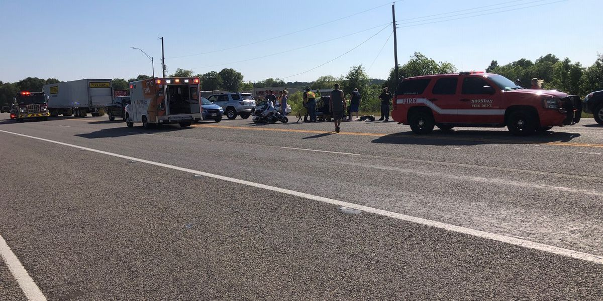 TRAFFIC ALERT: Motorcycle wreck on Hwy 155 near Tracker Boating Center slows traffic
