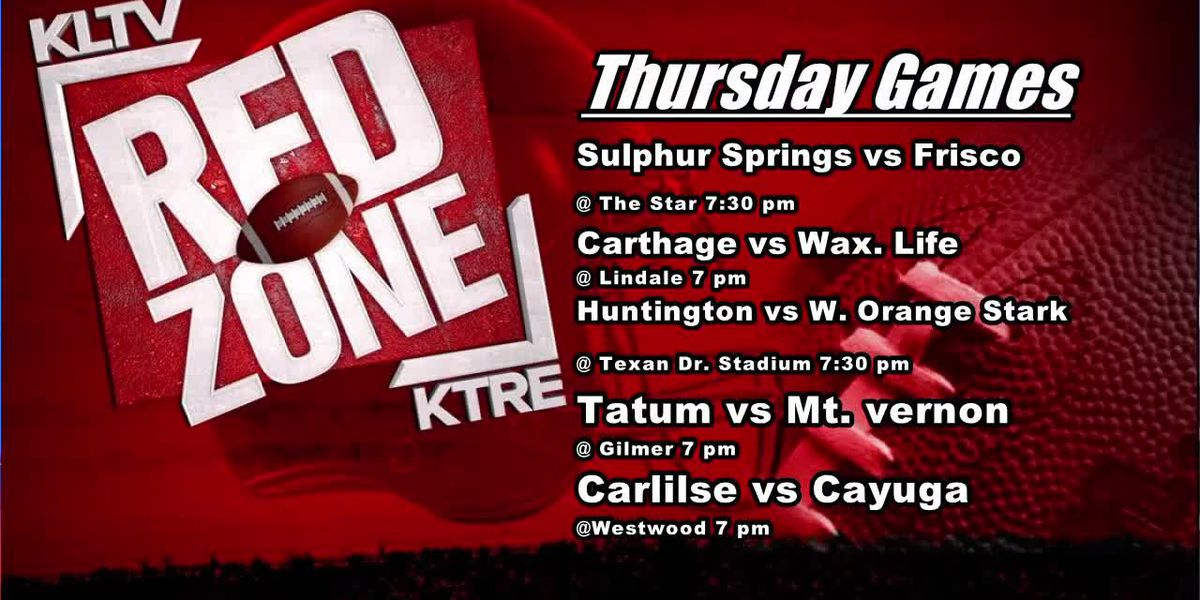 Red Zone Preview: Thursday Games