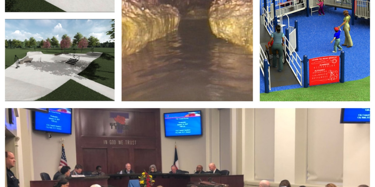 Park improvements, sewer ordinance approved during Tyler City Council meeting