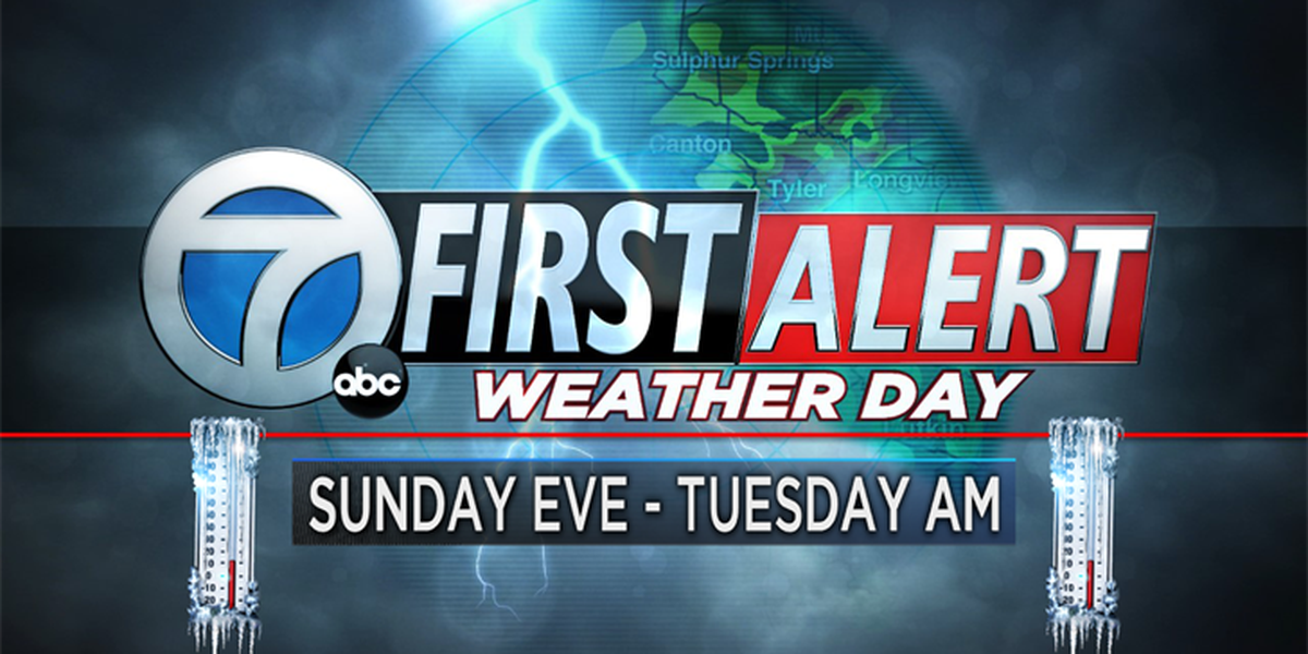 First Alert Weather Day declared Sunday evening for cold temperatures, freezing drizzle possible