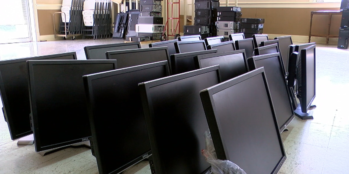 Cedar Street United Methodist Church donates computers to families in need