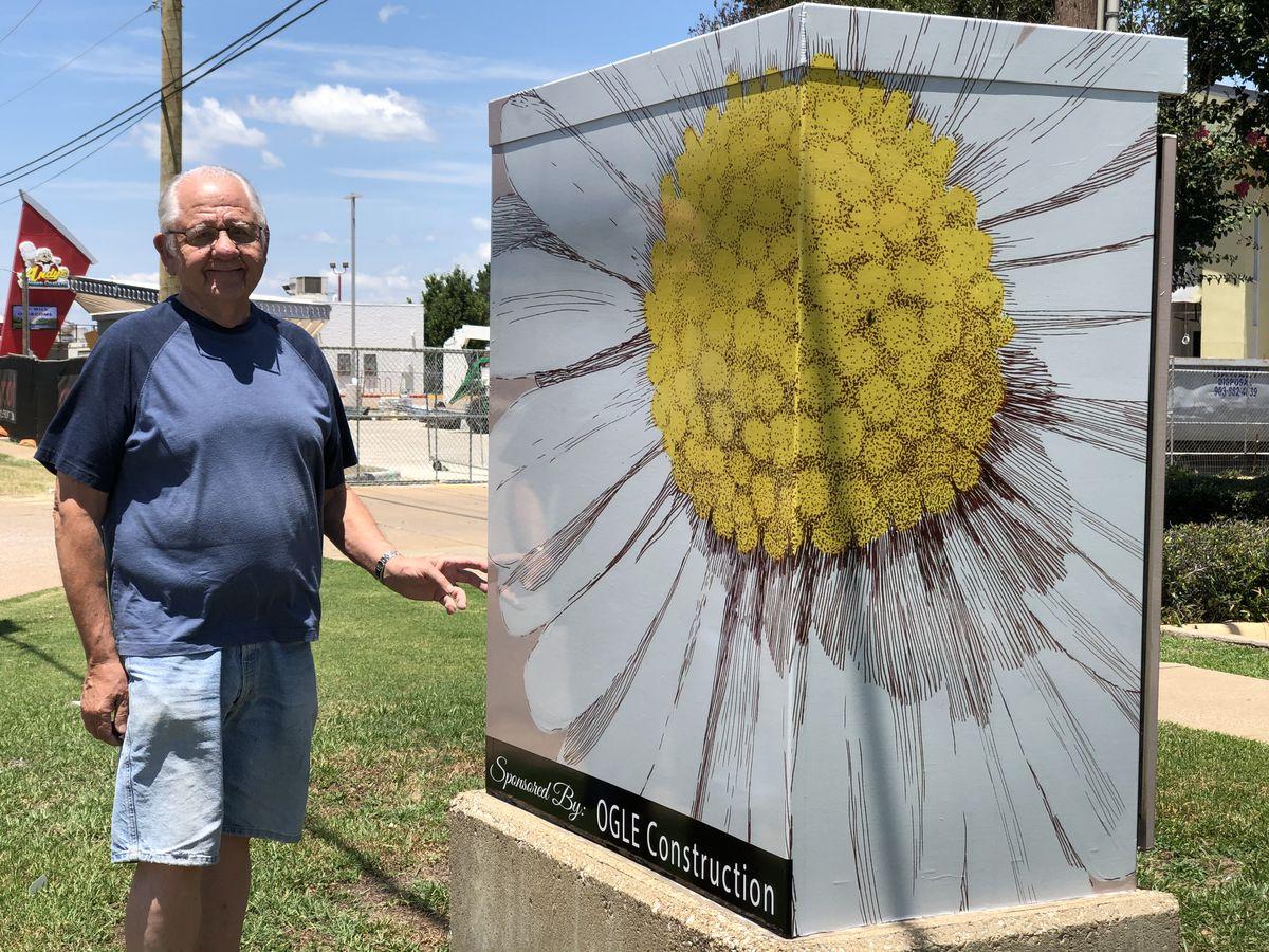 East Texas veteran remembered through his Tyler artwork