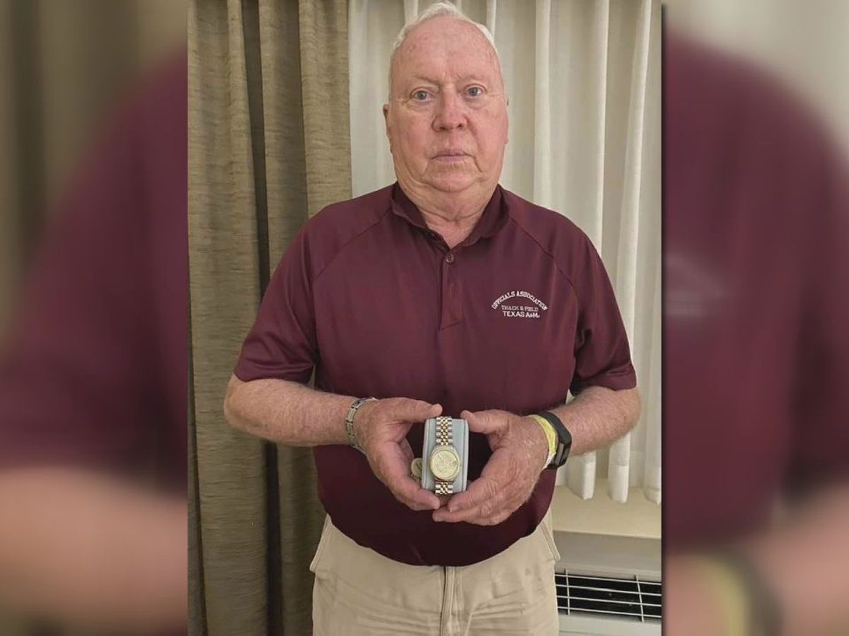Sabine Co. resident honored for his contribution to decades of track and field events