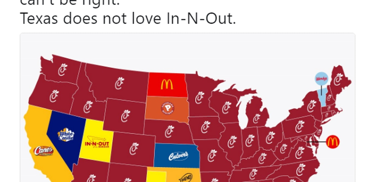 Study claims In-N-Out is favored by Texans over Whataburger