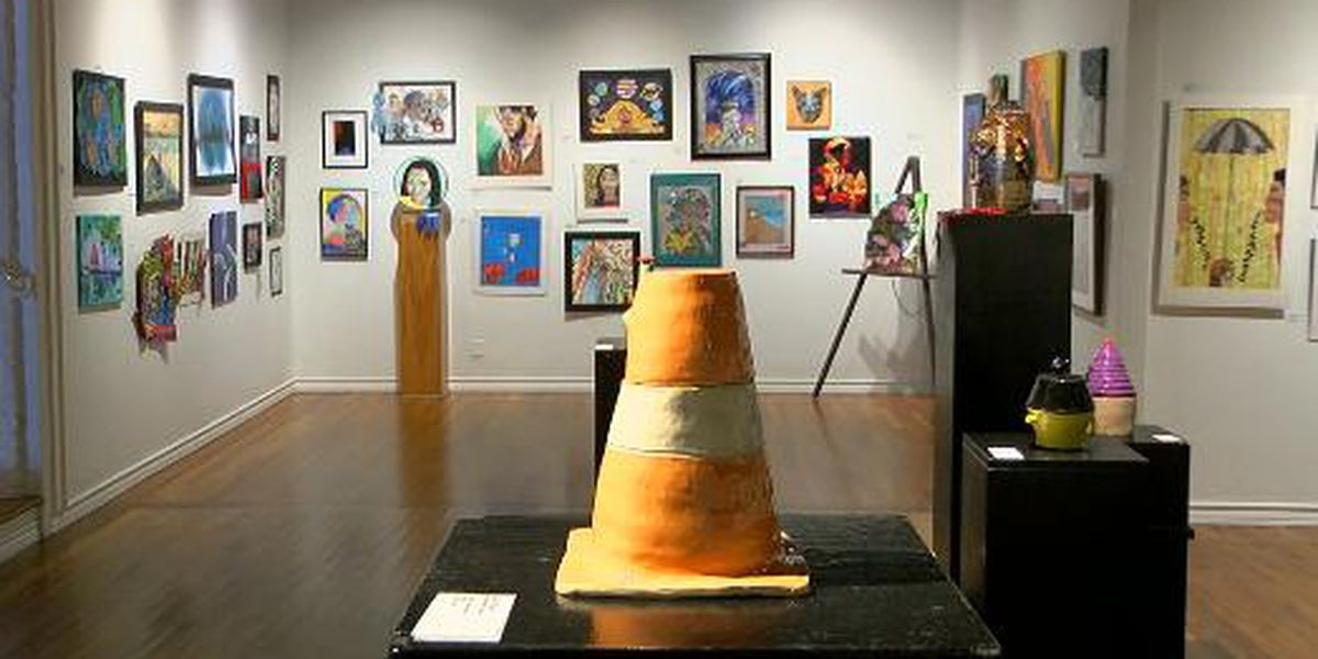 More than 300 student pieces on display at Longview Museum of Fine Arts