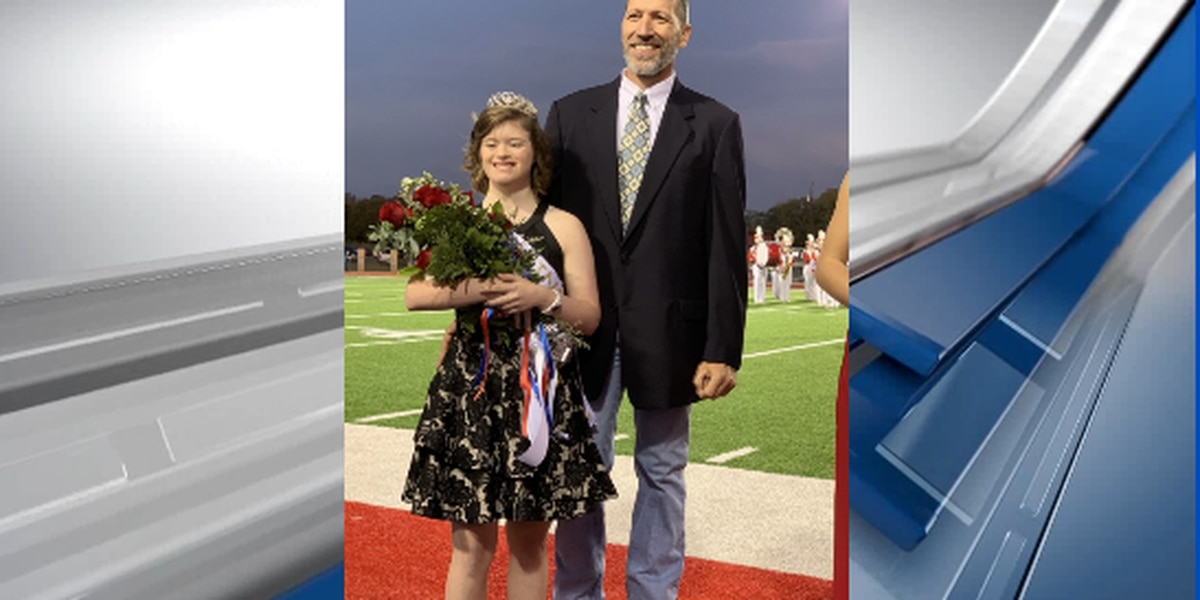 Bullard special needs student crowned homecoming queen