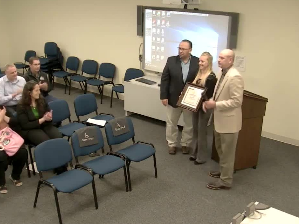 'I'm here because of these young ladies': Athletic trainers honored for saving Longview coach's life