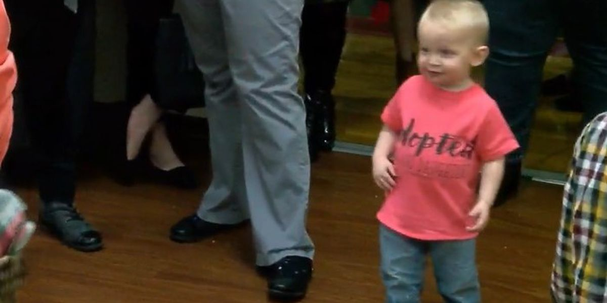 Four families make adoptions official in Rusk County