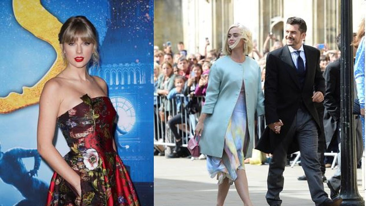 Taylor Swift Sends Embroidered Baby Blanket To Katy Perry S Baby Daughter